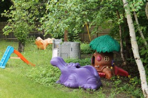 Outside Play Area, Iris Kirby House